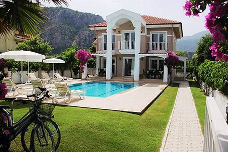dalyan villa garden