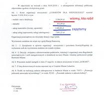 Urząd Miasta_koszt wydarzenia_medale