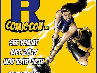 Rhode Island Comic Con has arrived!!!