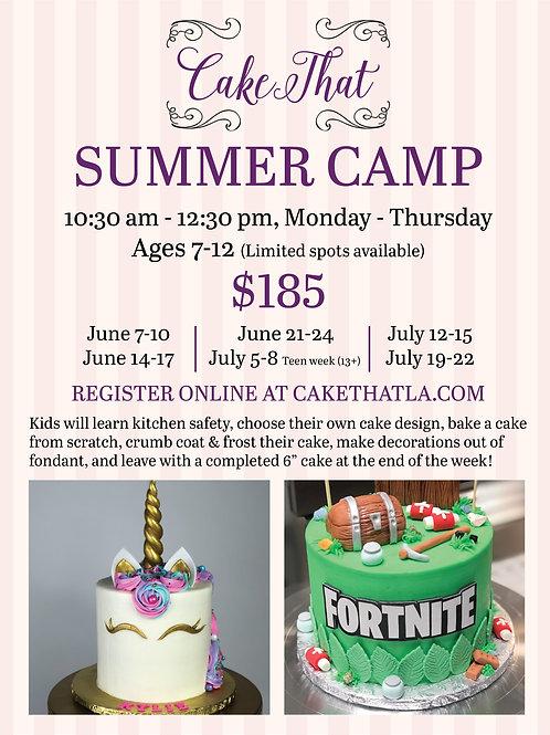 Summer Camp July 19-22