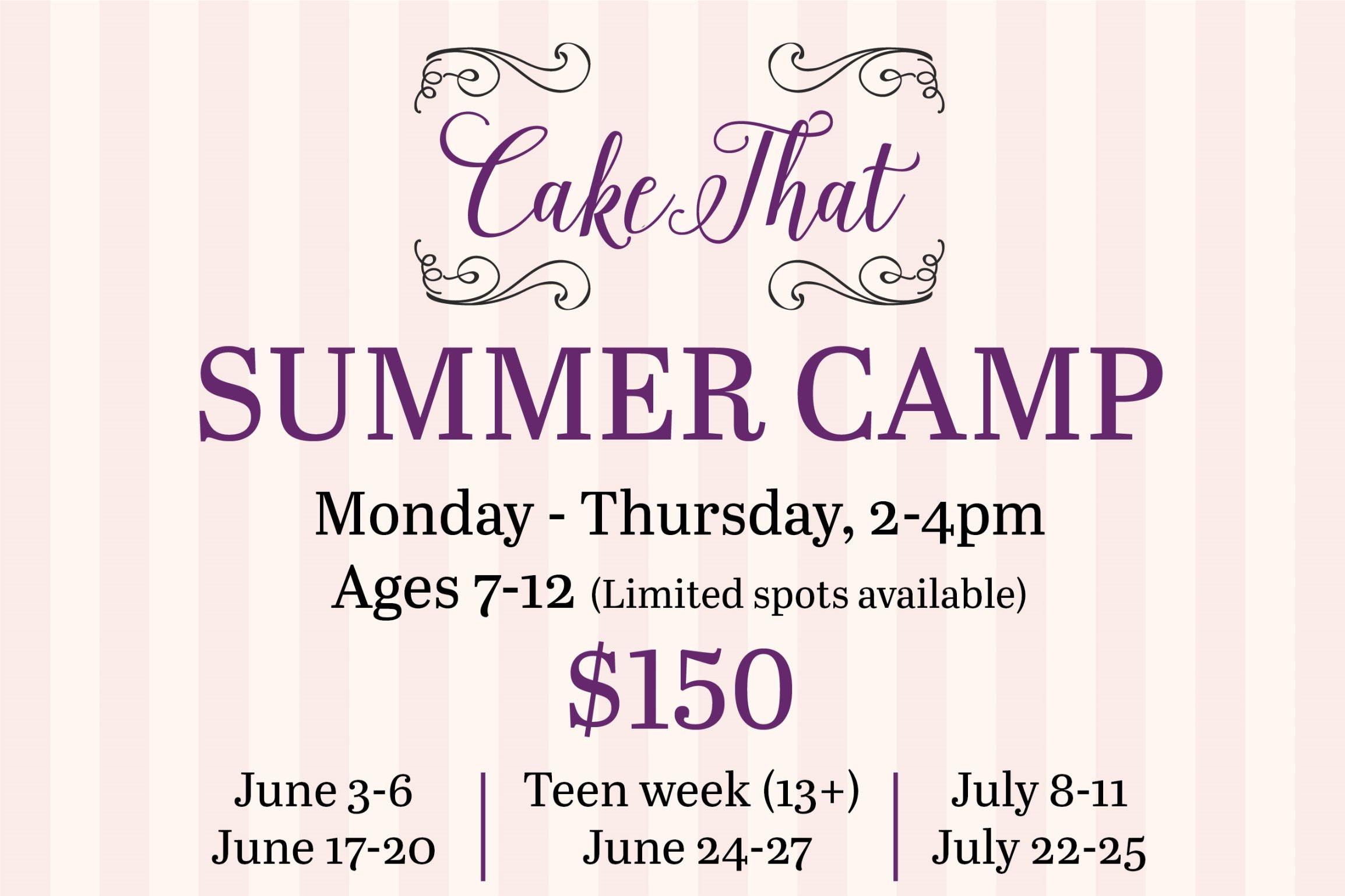 Summer Camp: Teen week, Week of June 24