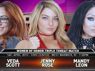 Ring of Honor heads to Warwick