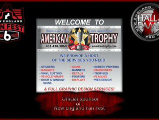 American Trophy teams up with New England Fan Fest 6!