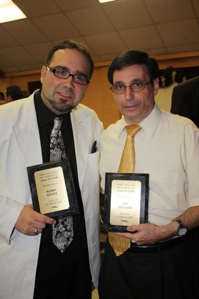 Jim Kettner on right
