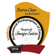 PPOC, Professional Photographers of Canada best in class Award winner, 2016