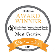 PPOC, Professional Photographers of Canada best in class Award winner, 2015
