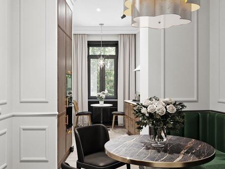 Дизайн узких комнат