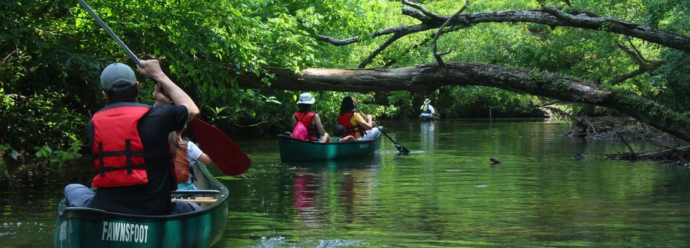 Cahaba River Society Canoe Trip Participants