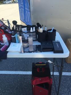 Makeup Station at Okefenokee Swamp