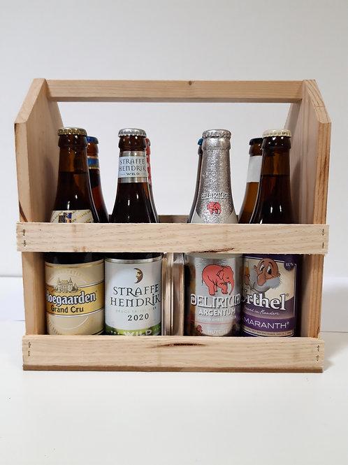 Caissette 8 bières Belges