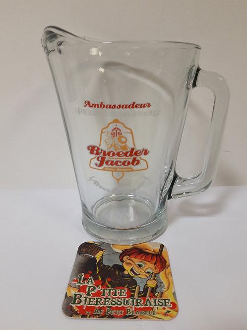 Pichet bière Broeder 2l
