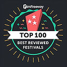 FilmFreewau Top 100 Best Reviewed Festiv