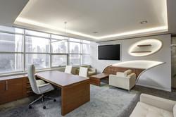 תאורה לחדר המשרד