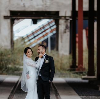 Hochzeitsfotos am Zollverein Essen