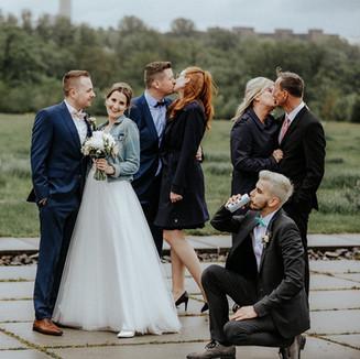 Hochzeitsfotos am Skywalk Phönix-West