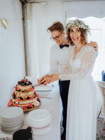 Hochzeitsfeier zuhause