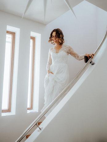 Hochzeitskleid Foto
