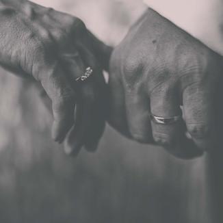 Hochzeitsfotos schwarz-weiss