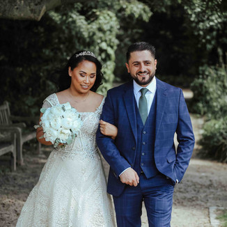 Hochzeitsfotos im Park Aquarius