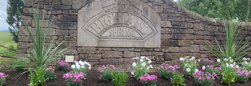Highland Spring Upgrade