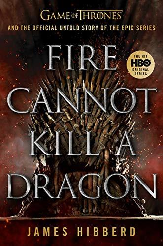 Na imagem mostra a capa do livro Fire Cannot Kill a Dragon, citado no texto sobre Game of Thrones mostrando as diferenças dos personagens retirados do livro