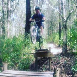 Member pic - Another epic MTB action pic of one of our members John, love it mate, great shot! #mtb