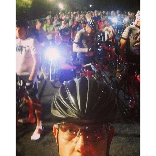 Good Morning John! 😄😉 quick on ride selfie from John, at the start of the Bobbin Head Classic yest