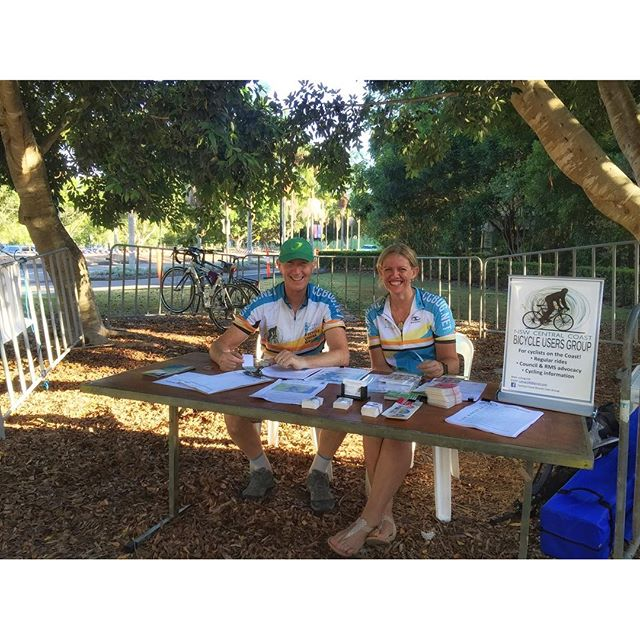 We're providing a bike valet service down at Ourimbah Uni at the women's International Expo...