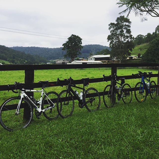 Bike Lean pics.... We love them! This one shows a little country within our beautiful Central Coast.