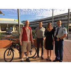 CCBUG Meets Local Police Commander