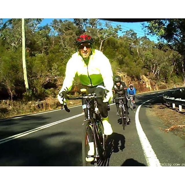 Member Pic. Patrick sent us this great pic, taken from a cyclo camera whilst out on one of our winte