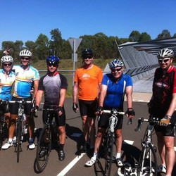 The M7 group ride on February 8, 2015