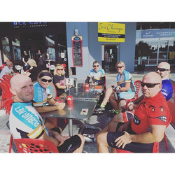 Mid ride coffee time 😄☕️ #ccbug #cycling #coffee #ride #bike #fitlife #wymtm #cyclinglife #centralc