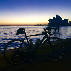 No words needed... Wow what a view! Where did you cycle this morning_