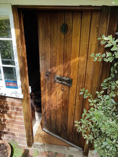 Front Door #Restored