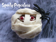 A very Spooky (vegan) Pupcake Recipe