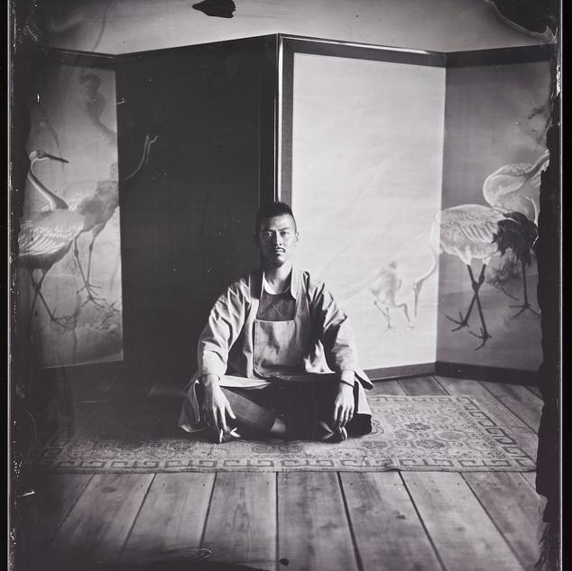 HAYASHI MICHIO 林道雄2016 湿板写真 wetplate10×12  四つ切りサイズ