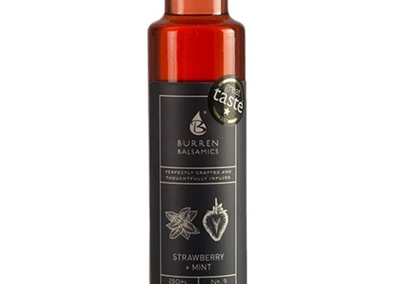 Strawberry and Mint infused Balsamic Vinegar 250ml