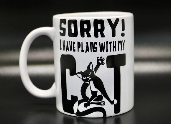 Novelty Mug Plans with my Cat