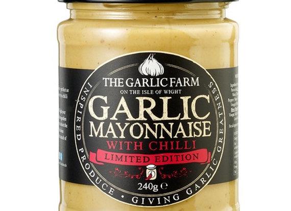 Garlic Mayonnaise with Chilli
