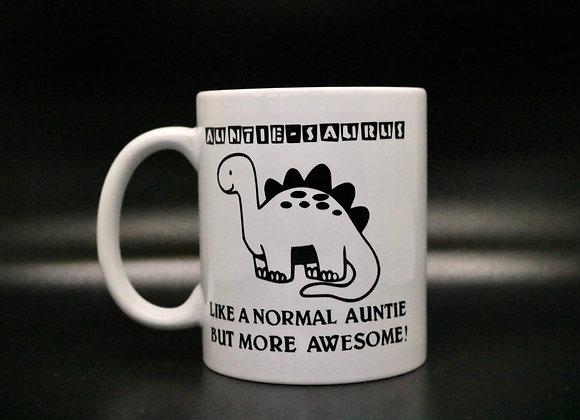 Novelty Mug Auntisaurus