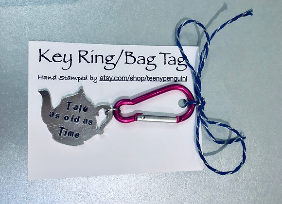 Tale as old as time Keyring
