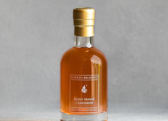 Blood Orange + Cardamom infused White Balsamic Vinegar 100ml