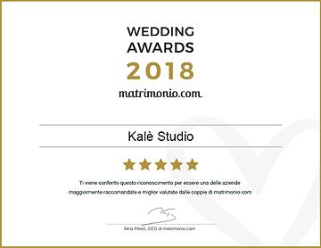 Wedding Awards 2017 matrimonio.com