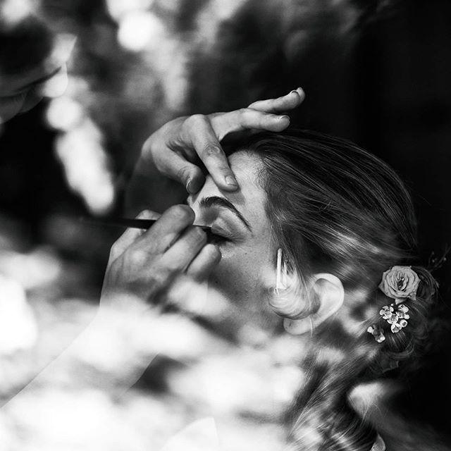 La preparazione della #sposa in una #loc