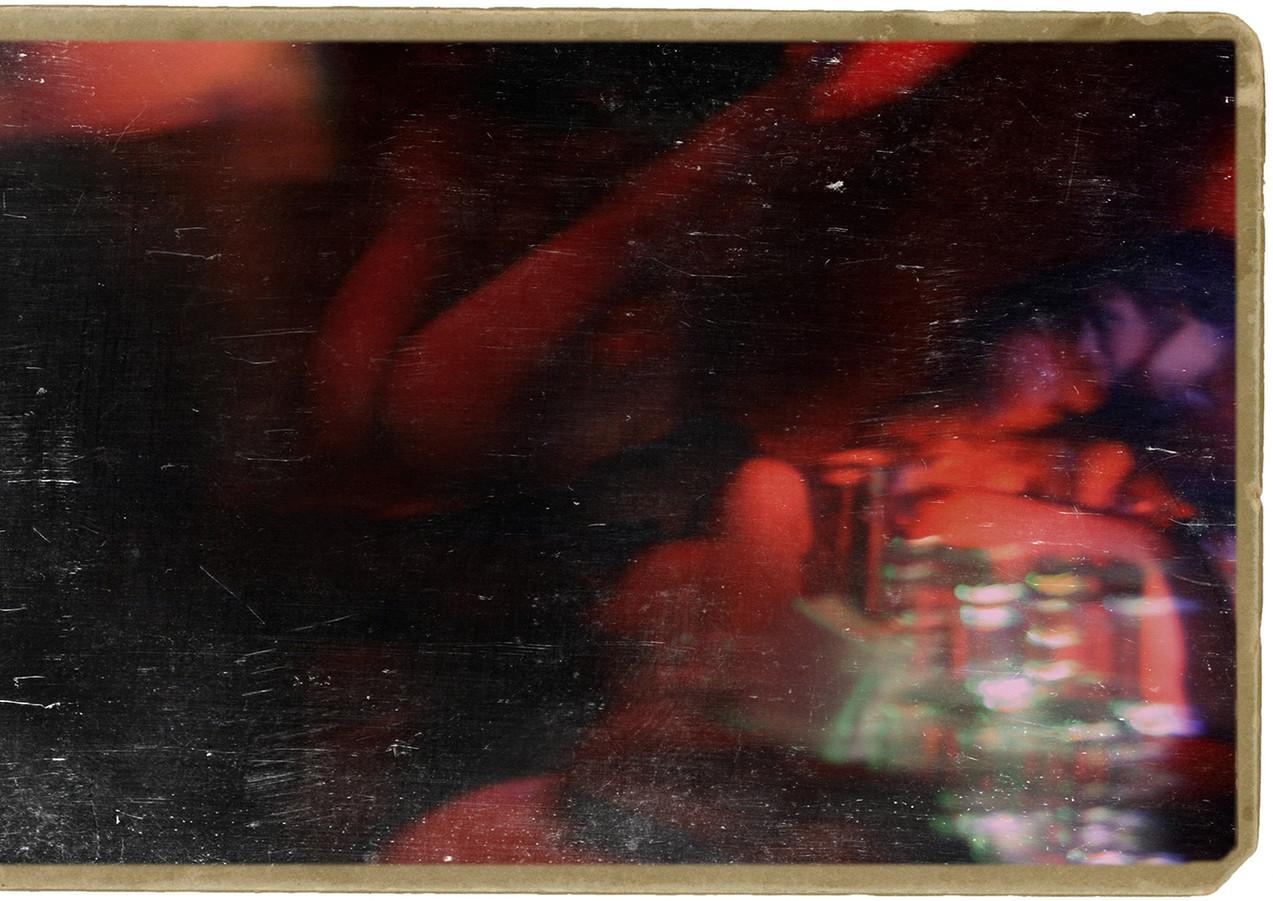 blurry night lights