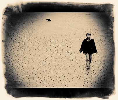 boy walking laylaloveart.com