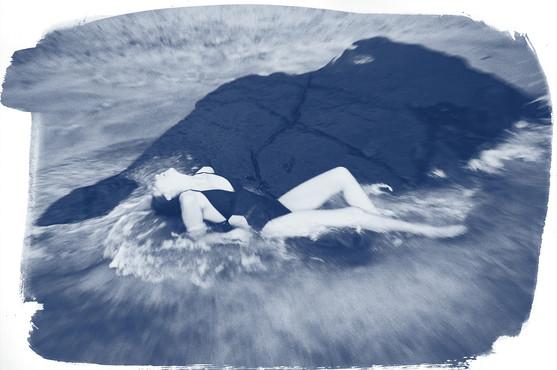 beach swim rock ocean sea float shower wash cleanse