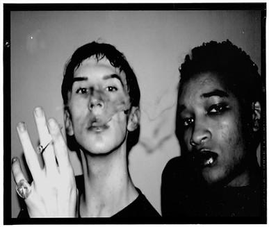 smoke black and white
