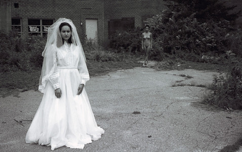tradition wedding marriage bride patriarchy abandon deserted western